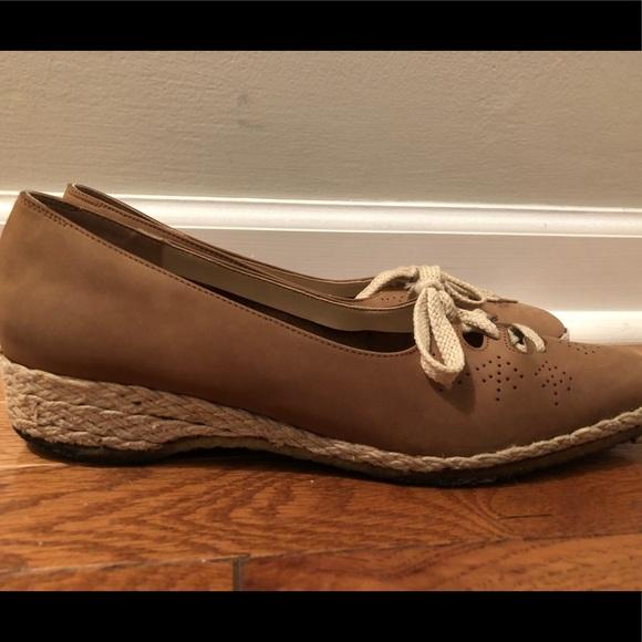 Salvatore Up Flats ShoesEspadrilles Ferragamo 7 Lace Poshmark wZOiuPXTk